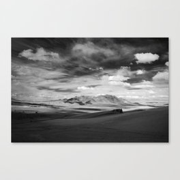 Vastness of land and sky Canvas Print
