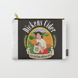 Dickens Cider - Every Girls Likes A Dickens Cider! Carry-All Pouch