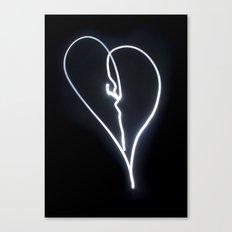 Light Heart Canvas Print