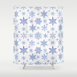 Snowflakes #1 Shower Curtain