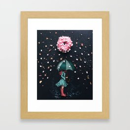 Sweet Rain Framed Art Print