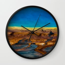 Earth in Full Color Wall Clock