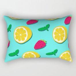Fruit Party #society6 #decor #buyart Rectangular Pillow