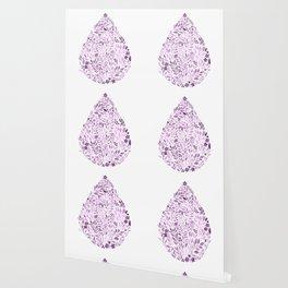 Purple Drop Wallpaper