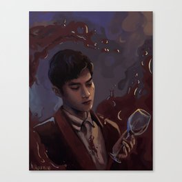 Dinner with Suho Canvas Print