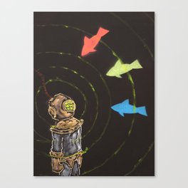 The Amazing Power of Sonar Canvas Print