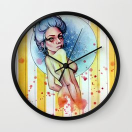 Star Burst Wall Clock