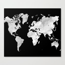 Design 70 world map Canvas Print