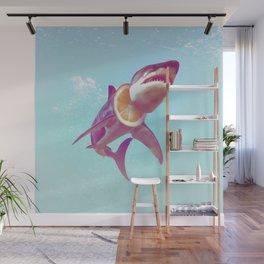 Lemon Shark Wall Mural