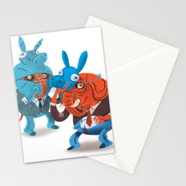 Elephants in Disguise Stationery Cards