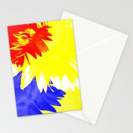 Flora Abstracta Stationery Cards