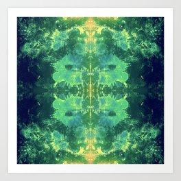 339 - Abstract Colour Design Art Print