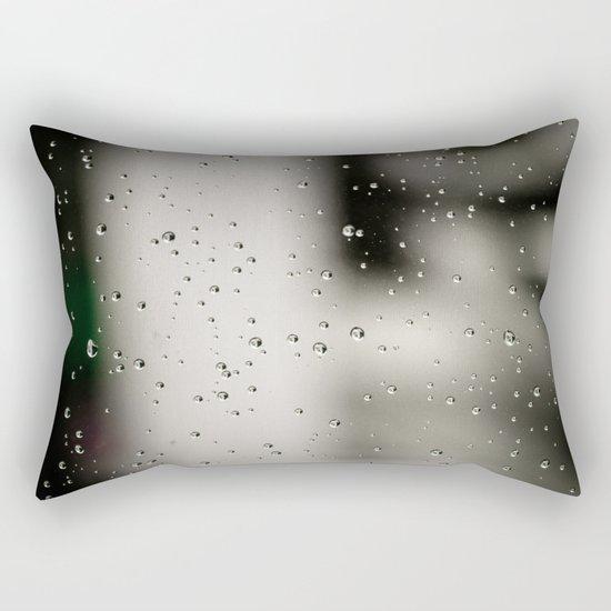 Rain bulles Rectangular Pillow