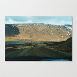 Vestfirðir II Canvas Print