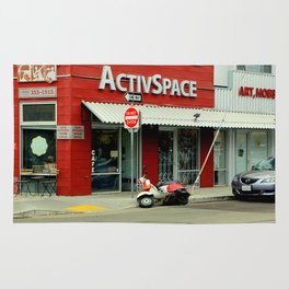 Not So Active Parking Space Rug