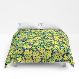 Multicolor mosaic pattern Comforters