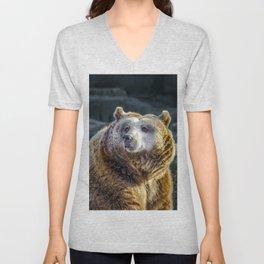 Grizzly Unisex V-Neck