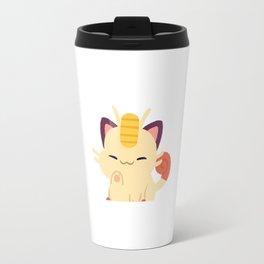 Lucky Meowth Travel Mug