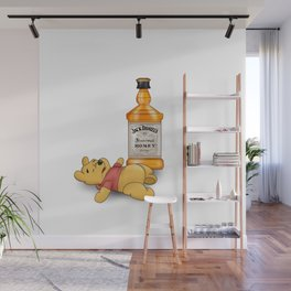 Pooh's Honey Trouble Wall Mural