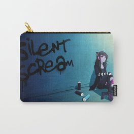 Zoe's Spraypaint Carry-All Pouch