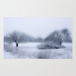 winter magic Rug