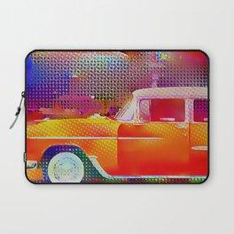 Orange Car in Miami Laptop Sleeve