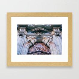 Eixample - Barcelona, Spain - #27 Framed Art Print