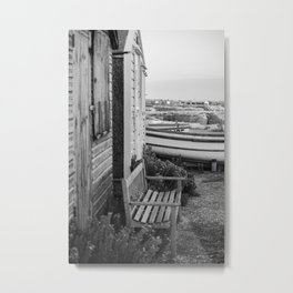 Bench - photo series Metal Print