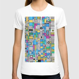 Color Boxes and Patterns T-shirt