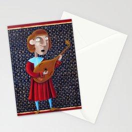 Il menestrello - L'Epoca di Federico II Stationery Cards