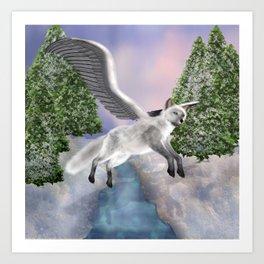 Arctic Winderness Art Print