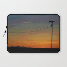 Rainbow Sunset Laptop Sleeve