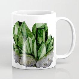 Watercolor Emerald Cluster Coffee Mug