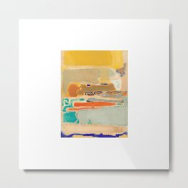 1948 Multiform by Mark Rothko Metal Print