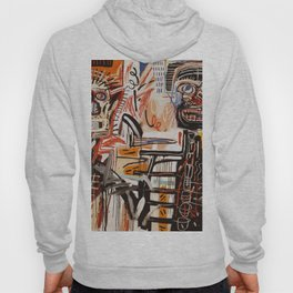 A vectorised Basquiat Hoody