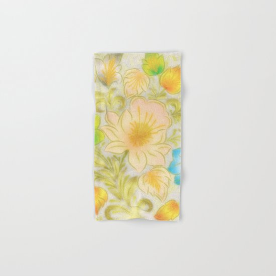 Shabby flowers #8 Hand & Bath Towel