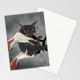 Naughty Vampire Cat Stationery Cards