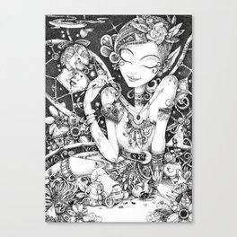 Tinkering Utopia Canvas Print