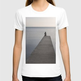 Mermaid at Sunset - Landscape Photography T-shirt