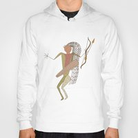 hunting Hoodies featuring Hunting Party by BohemianBound