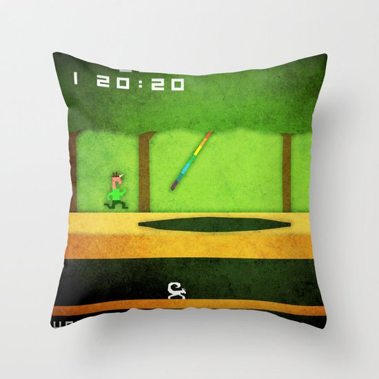 Pitfall Unicorn Throw Pillow