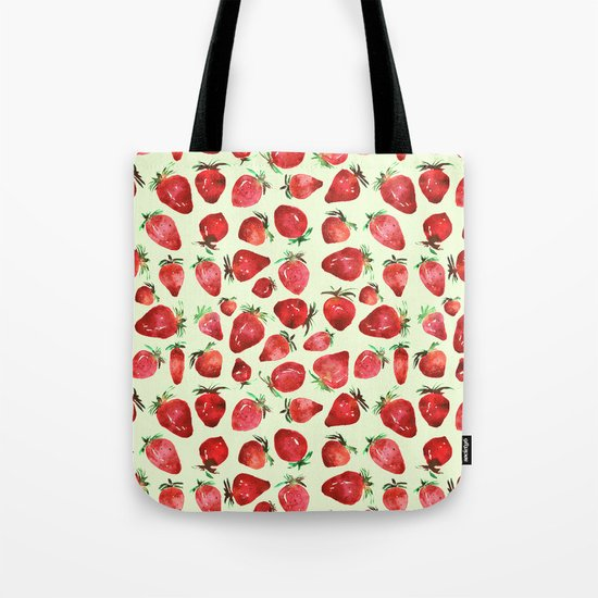 Strawberry vibes Tote Bag