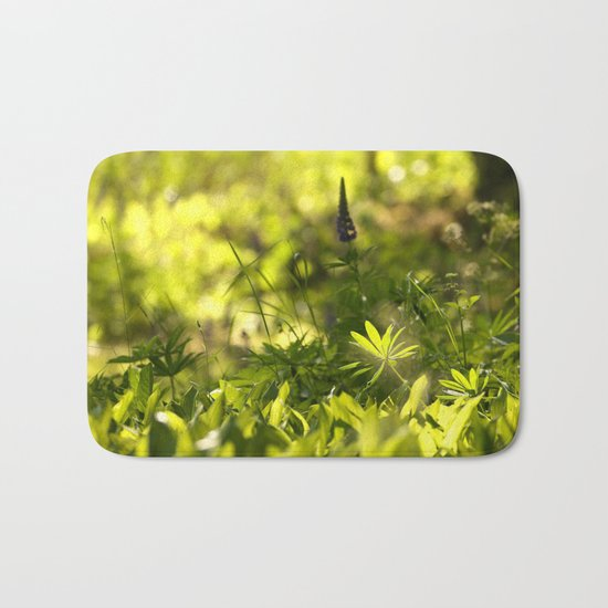 In The Summer Forest  Bath Mat