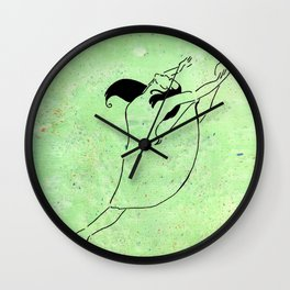 Freedom of Dance Wall Clock