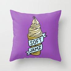 Soft Jamz Throw Pillow