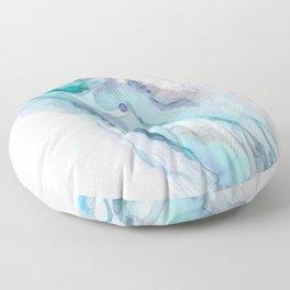 Fluorite Flow Floor Pillow