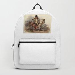 Blackfoot Indian Warrior Backpack
