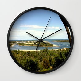 Lakes Entrance ~ Australia Wall Clock