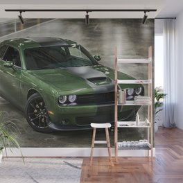 Challenger Stars and Stripes Edition Wall Mural