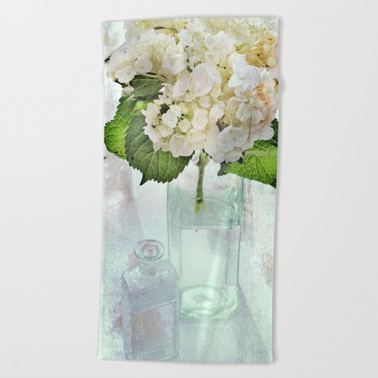 Whitish Beach Towel